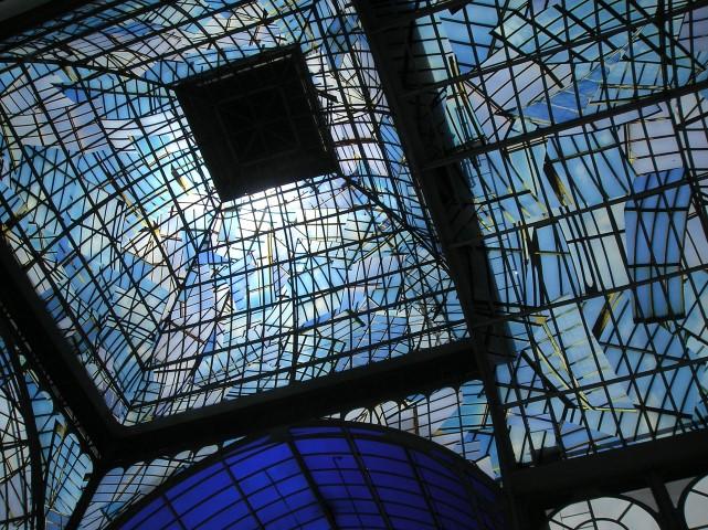 cupula del palacio de cristal
