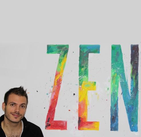 rótulo revista zen