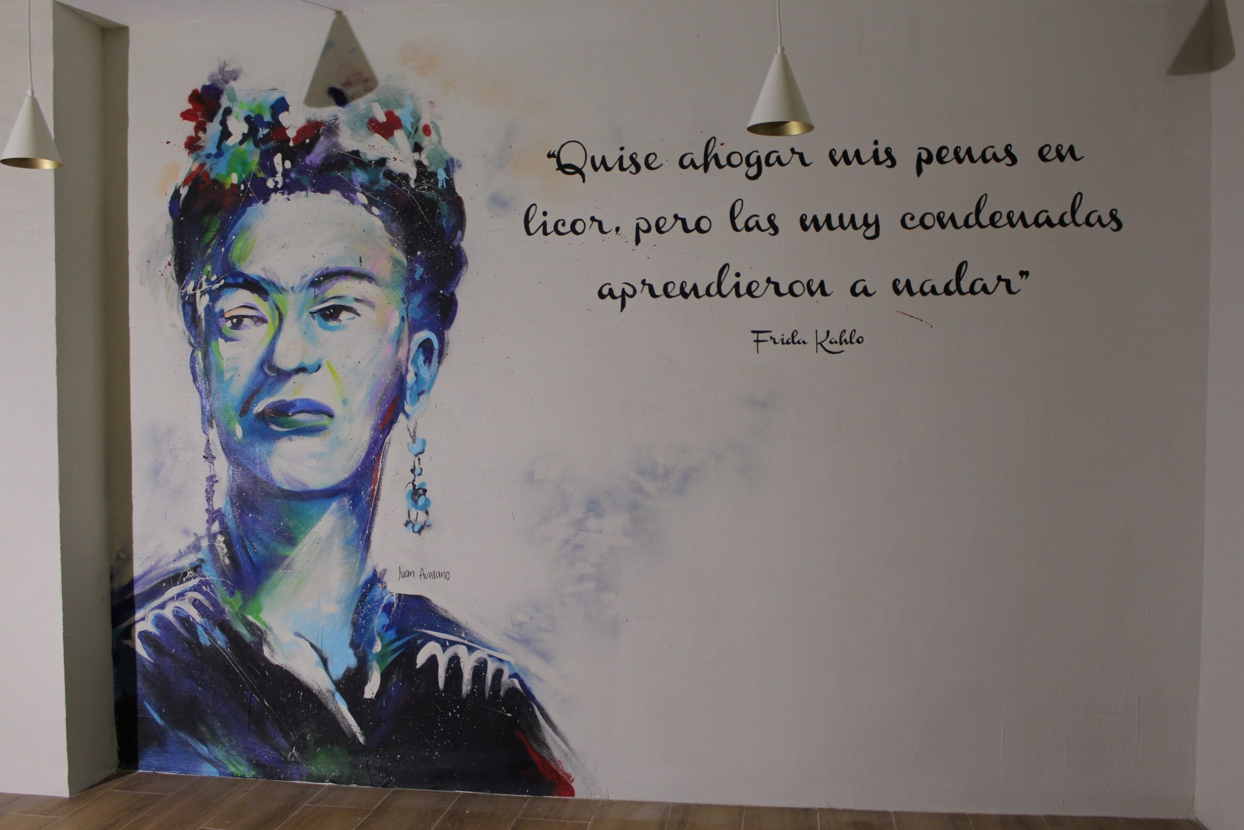 Retrato Frida en Granada
