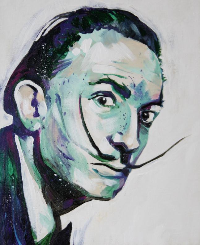 Retrato Salvador Dalí