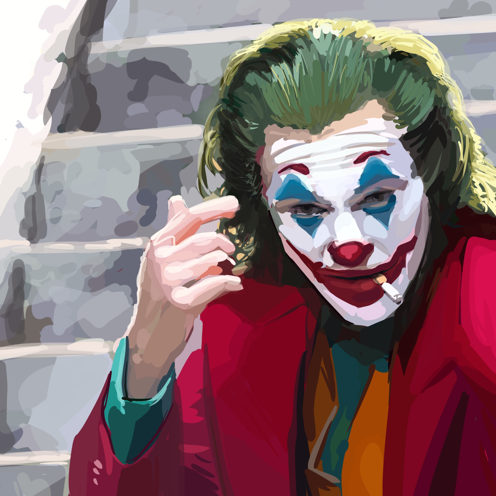Retrato joker