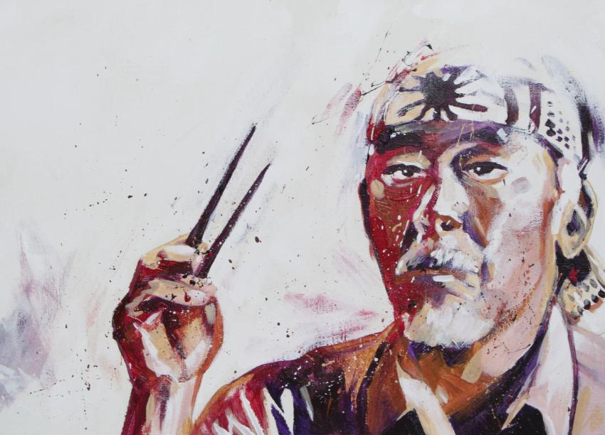 Retrato miyagi