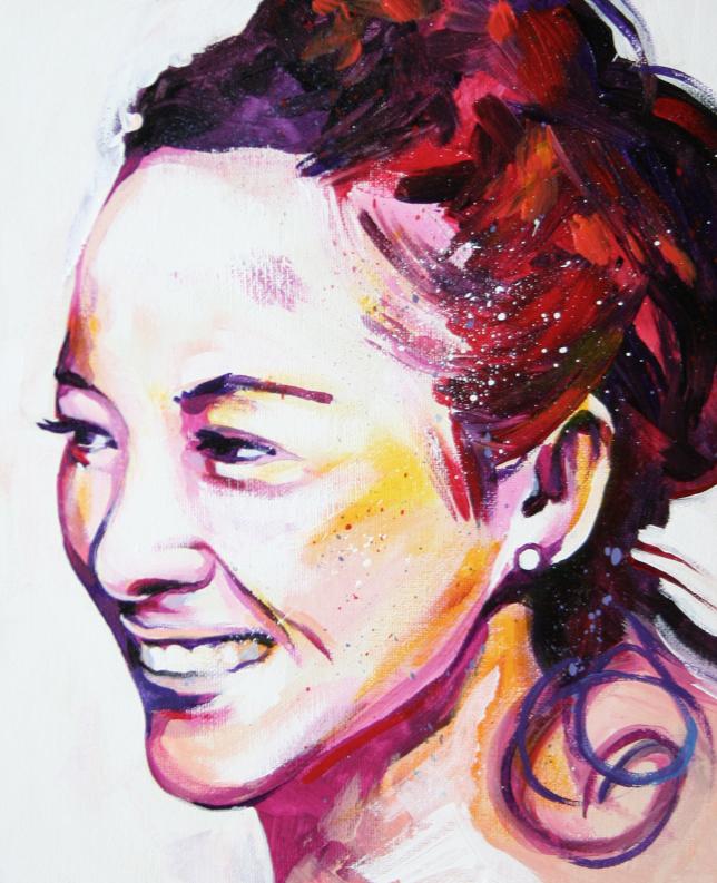Retrato ziyi zhang