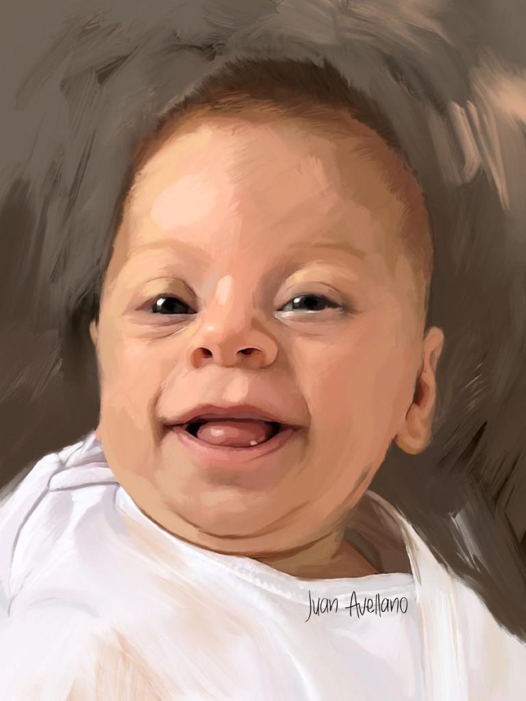 retratos de bebés